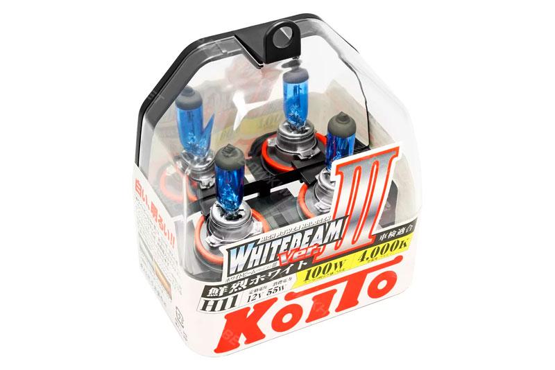 lampi h11 Koito Whitebeam Ver. III H11