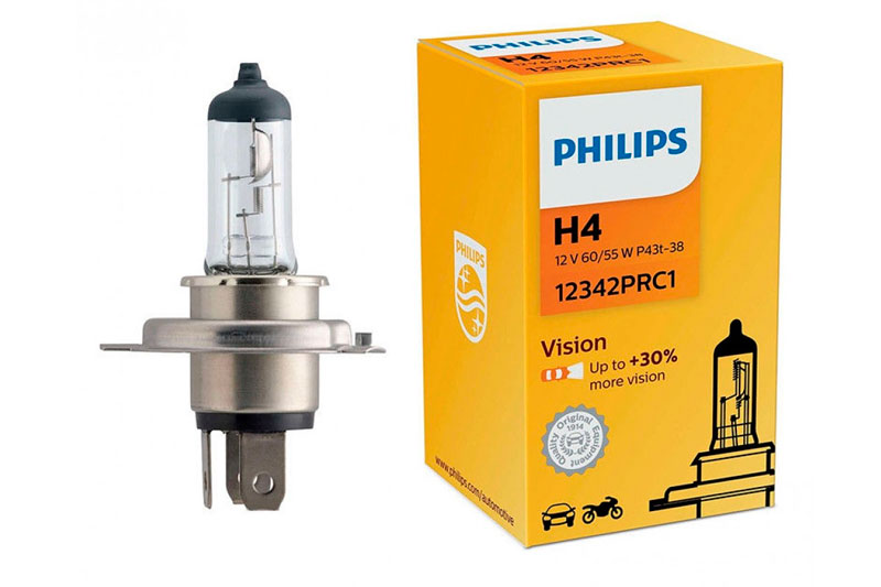 Philips H4 3200K Vision30